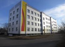 Наружная отделка зданий и строений ОАО «АНХК»